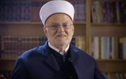 خطيب المسجد الأقصى الشيخ عكرمة صبري