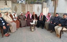 إتمام صلح عشائري بين عائلتين في خان يونس