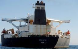 ناقلة النفط الإيرانية المفرج عنها تستقر بميناء تركي