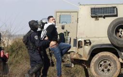 الاحتلال الاسرائيلي يعتقل مواطنين فلسطينيين-أرشيفية