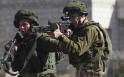 إصابة شاب برصاص الاحتلال - تعبيرية