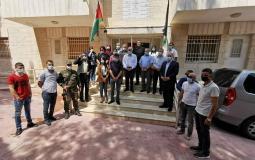 محافظة بيت لحم تنظم وقفة تضامنية مع محافظ القدس