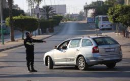 تنظيم حركة المرور في غزة مع تفشي فيروس كورونا - أرشيف