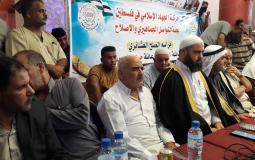 صلح عشائري بين عائلتين الشافعي وحسنين