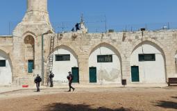 الاحتلال يقتحم المسجد الأقصى ومؤسسة بيت مال القدس