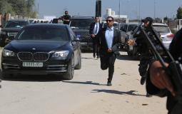 موكب رئيس الوزار الفلسطين رامي الحمد الله - ارشيفية -