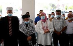 وفقة تضامنية في رام الله مع محافظ القدس