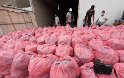 أوقاف غزة تقدم مساعدات لـ 4300 أسرة متضررة من كورونا