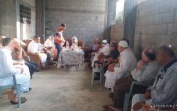 إصلاح الجهاد يرعى صلحاً عشائرياً بين عائلتين في الوسطى