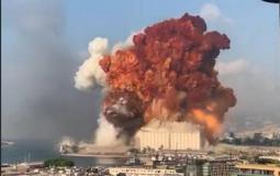 أول رئيس عربي يعلق على انفجار بيروت