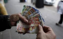 صرف الرواتب في غزة