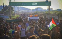 مسيرة شمال قطاع غزة اليوم