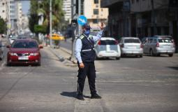 شرطة المرور بغزة- أرشيفية