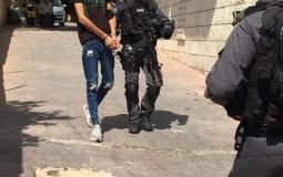 قوات الاحتلال الإسرائيلي تعتقل مواطنا