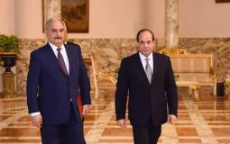 تفاصيل مبادرة السيسي لإنهاء الصراع في ليبيا