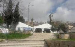 الاحتلال يضع كرفانات في ساحتي الحرم الابراهيمي