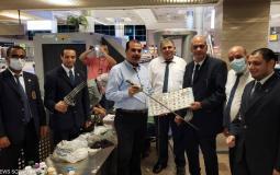 مطار القاهرة يضبط مسافرا معه -الممنوعات- عملية تهريب