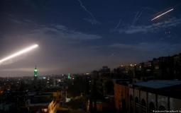 قصف سوريا  - أرشيفية