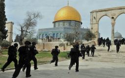 اقتحام جيش الاحتلال للمسجد الأقصى  - ارشيفية -