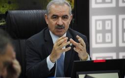محمد اشتية - رئيس الوزراء الفلسطيني