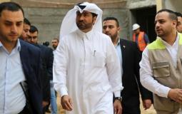 خالد الحردان نائب السفير القطري محمد العمادي