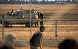 جيش الاحتلال الإسرائيلي على حدود غزة