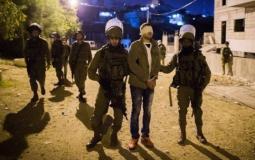 الاحتلال يعتقل مواطنين في محافظات الضفة الغربية.jpg