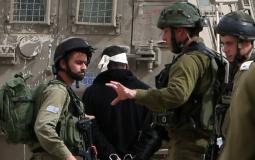 قوات الاحتلال تعتقل 10 مواطنين في أنحاء متفرقة بالضفة