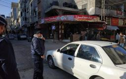 مرور غزة تغلق بعض الشوارع في مدينة غزة
