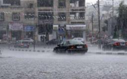 هطول أمطار في غزة - ارشيف