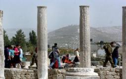 اقتحام الموقع الأثري في سبسطية - أرشيفية