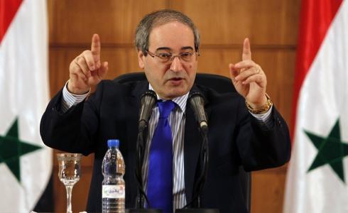 فيصل المقداد وزير الخارجية السوري المعيّن