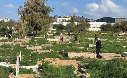 حملة تنظيف مقابر رفح