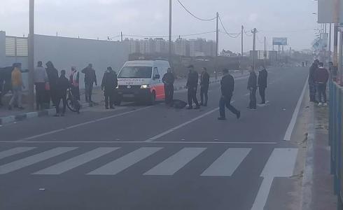 وفاة مواطن في حادث سير قرب مطعم حيفا