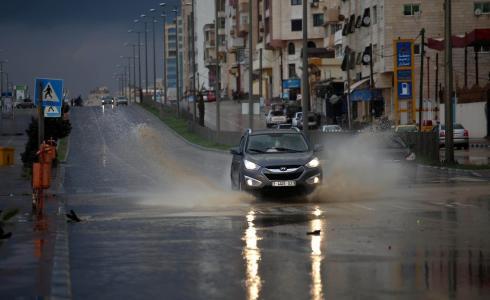 أمطار في غزة - أرشيفية