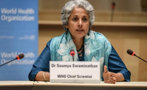 العالمة بمنظمة الصحة العالمية سوميا سواميناثان