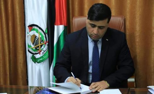 المتحدث باسم حركة حماس عبد اللطيف القانوع