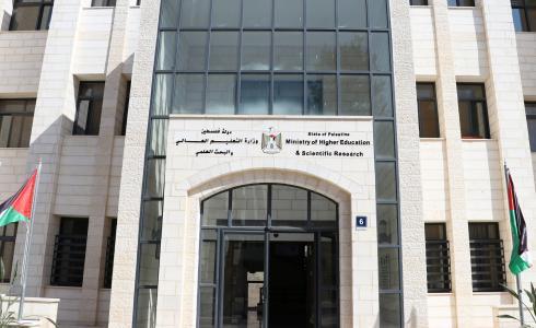 وزارة التعليم العالي والبحث العلمي - فلسطين