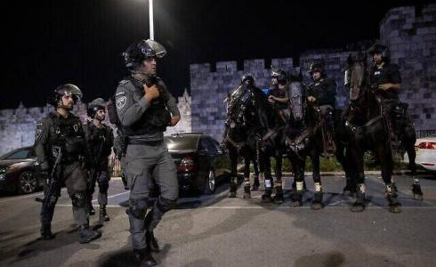 قوات الاحتلال اعتدت على المصلين في المسجد الأقصى اليوم