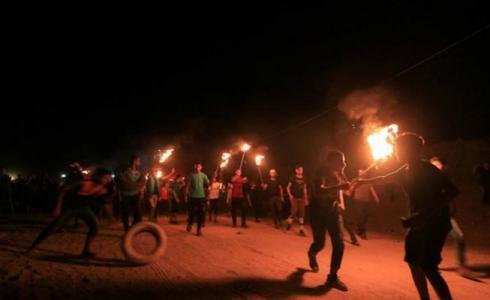 عودة وسائل الاشتباك الميداني الخشنة على حدود غزة