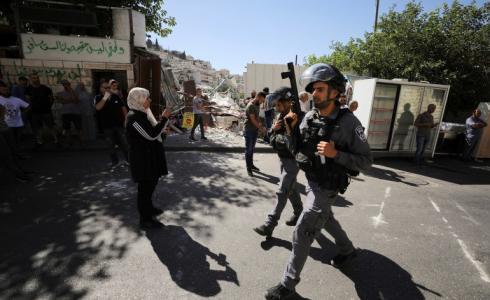 قوات الشرطة الاسرائيلية