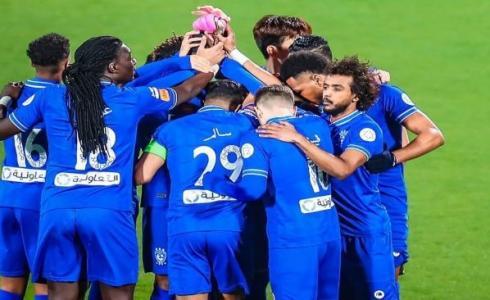 الهلال والرائد في الدوري السعودي