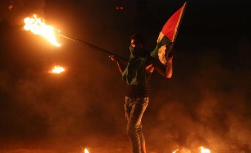 فعاليات الإرباك الليلي في غزة - تعبيرية