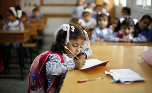مدرسة فلسطينية - تعبيرية
