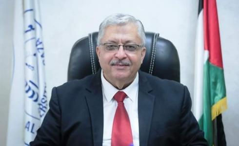 عمر خضر ميلاد رئيس جامعة الأزهر في غزة