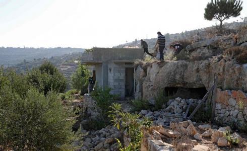 من مكان استشهاد 3 شبان في القدس