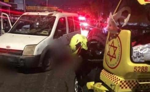 إصابة شقيقين قرب مدينة حيفا