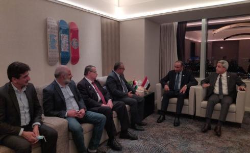 أبو سيف يبحث مع نظيره العراقي التعاون الثقافي المشترك