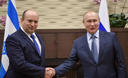 بوتين وبينيت