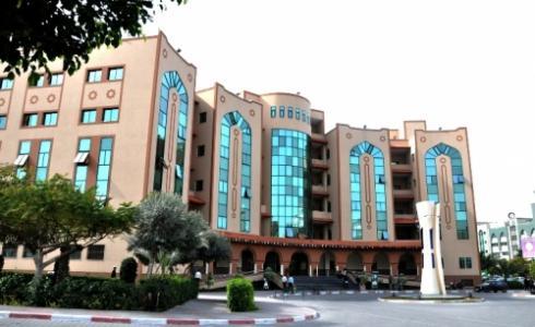 مقر الجامعة الاسلامية بغزة
